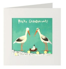 Ian Snow You're Grandparents shakie card