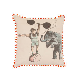 Ian Snow Circus Cushion