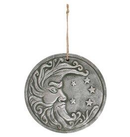Moon Silver Plaque