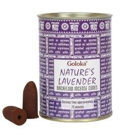 BackFlow Incense Cone Lavender