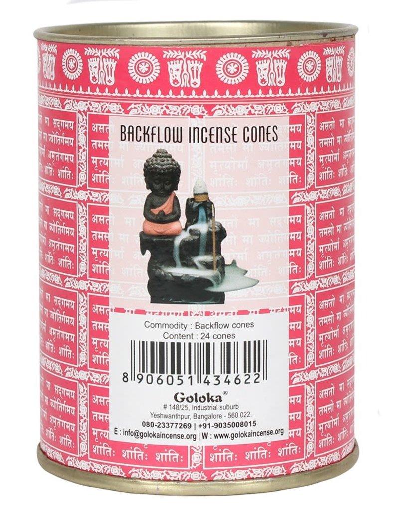 BackFlow Incense Cones Rose
