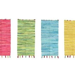 KaemingkS9 Rug Colourful Rag Rugs 90x60cm