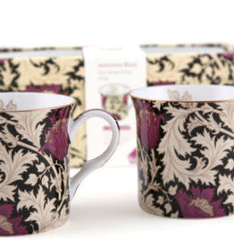 Creative V&A Mugs - Anomone Black