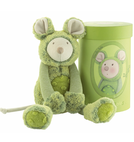 Moulin Roty Les Zazous - Green mouse
