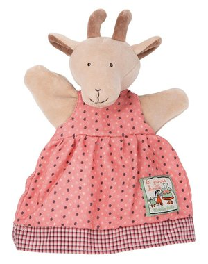 Moulin Roty La Grande Famille - Pierrette the Goat Hand puppet