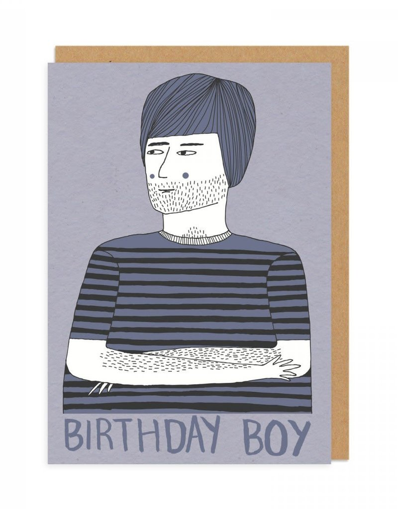 Birthday Boy Greeting Card