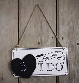 Days until 'i do'