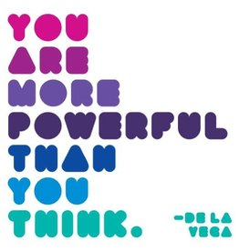 Quote Quotable Stickers - You are more powerful than you think