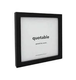 Quote Black Frame for Quotable cards