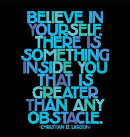 Quote Card & envelope - Believe in yourself