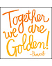 Quoteable Card & envelope - together we are golden