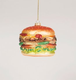 sass & belle Big Fat Burger Bauble