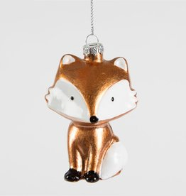 sass & belle Fox Christmas Bauble