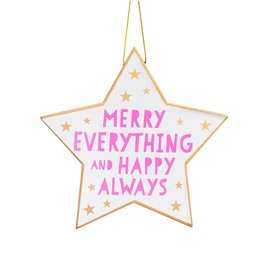 sass & belle Star Hanging Decoration
