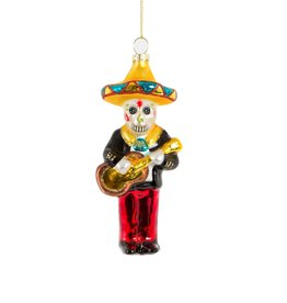sass & belle Mexican Skull Bauble