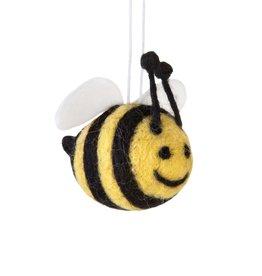 sass & belle Felt Bee Bauble