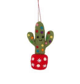 sass & belle Felt Cactus Bauble