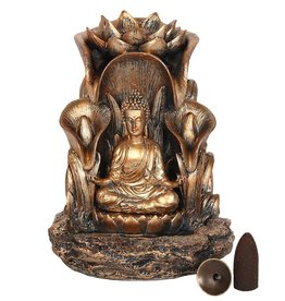 Backflow Burner - Gold Buddha