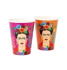 Frida Kahlo Paper Cups