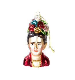 Frida Bauble glass hanging decoration