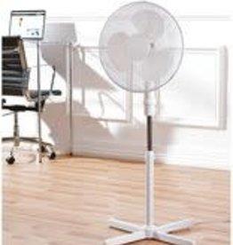 """Fine elements Pedestal Fan 16"""" 3 in 1 White"""