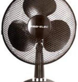 """Pro-Elec Desk Fan 9"""" Black"""