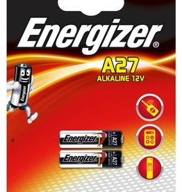 Energizer Alkaline 12v Battery A27 2pk