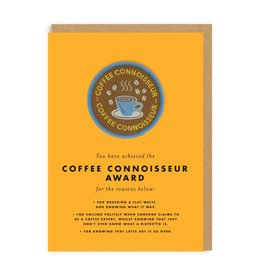 Ohh Deer Coffee Connoisseur card