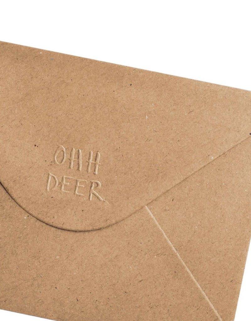 Ohh Deer Pin Badge Card