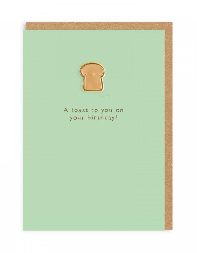 Ohh Deer Pin Toast card