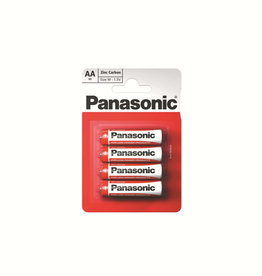 Panasonic Batteries ZInc Carbon AAA 4 Pack