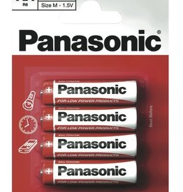 Panasonic Batteries Zinc Carbon AA 4 Pack