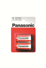 Panasonic Batteries Zinc Caarbon C Size 2 Pack