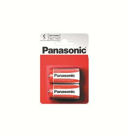 Panasonic Batteries Zinc Caarbon C Size 2 Pack