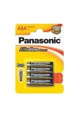 Panasonic Batteries Alkaline Power AAA 4 Pack