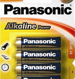 Panasonic Panasonic Batteries Alkaline Power AA 4 Pack