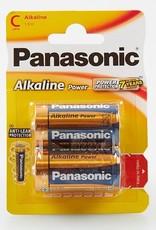 Panasonic Batteries Alkaline Power C Size 2 pack