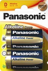 Panasonic Batteries Alkaline Power D Size 2 Pack