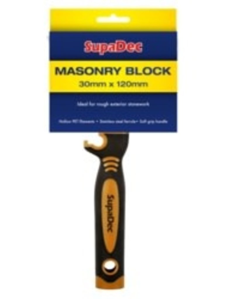 Masonry Block Brush 30mm x 120mm