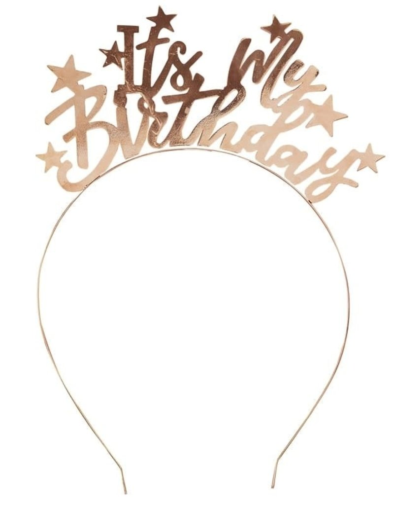 It's My Birthday Headband