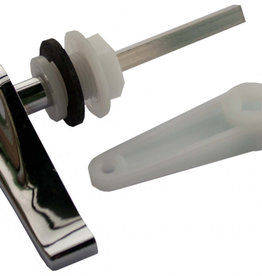 Oracstar Low Level Cistern Handle Pack Chrome Plated Plastic