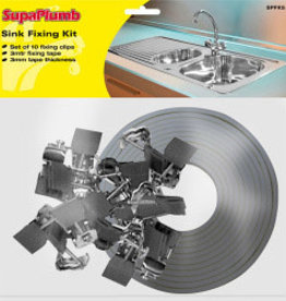 SupaPlumb Sink Fixing Kit