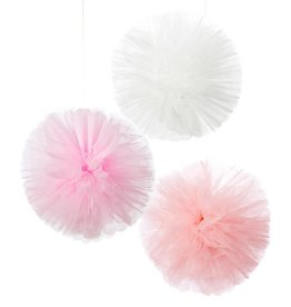 Talking Tables Tulle Pom Poms