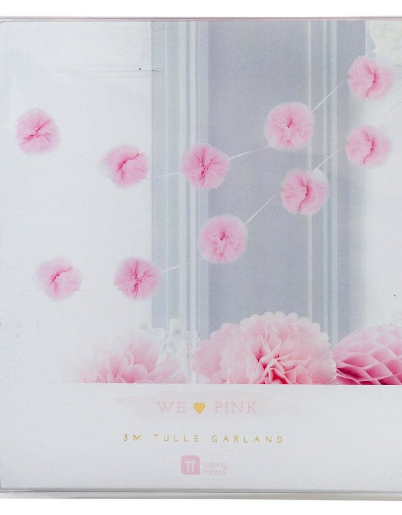 Talking Tables Pink Tulle Garland