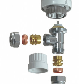 SupaPlumb Thermostatic Radiator Valve