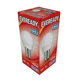 Eveready LED Golf Bulb SBC 40w Daylight