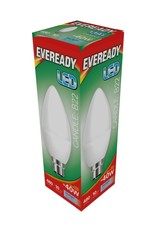 Eveready LED Candle Daylight BC 40w