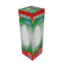 Eveready LED Candle BC 40w Daylight