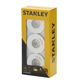 Stanley Stanley Slimline Recessed LED Fire Rated Downlighters 3w Pack 3