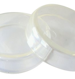 Caster Cups Clear L